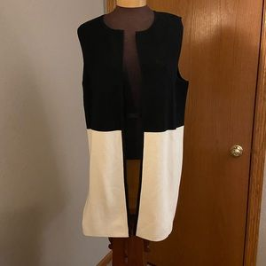 Two-tone vest from Talbots